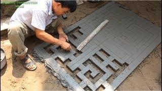 Download Construction Techniques New Window Design Use Sand And Cement - Daily Creative Construction Video