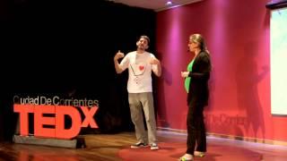Download Encontrar la magia en el camino: Dino y Aldana at TEDxCiudadDeCorrientes Video