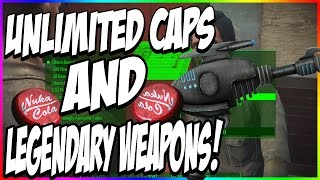 Download FALLOUT 4: UNLIMITED/INFINITE CAPS (Money)! Unlimited LEGENDARY Weapons! | Fallout 4 Glitch Video