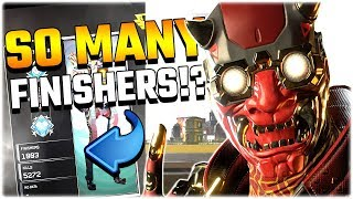 Download He Has OVER 1000 FINISHERS!?! (Apex Legends PS4) Video