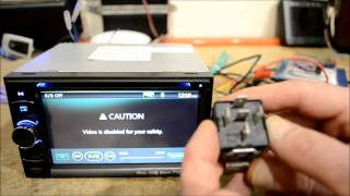Download How to do an In Dash DVD GPS stereo Parking Brake Bypass Video