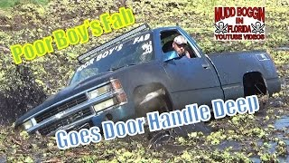 Download Chevy Mega Truck..″Poor Boy'S Fab″ Goes Door Handle Deep. Video