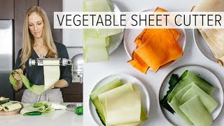Download VEGETABLE SHEET CUTTER | is this the next spiralizer? Video