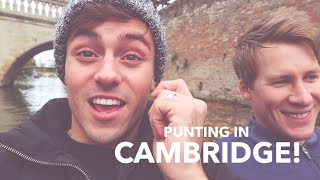 Download Tom and Lance Go Punting In Cambridge! I Tom Daley Video