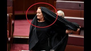 Download وزيرة أسترالية تخلع نقابها وتشتم الإسلام بوقاحة في البرلمان فتلقت صفعة مفاجأة أخرستها للأبد Video