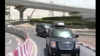 Download H.H. Sheikh Khalifa & H.H. Sheikh Mohammed touring Dubai's major landmarks Video