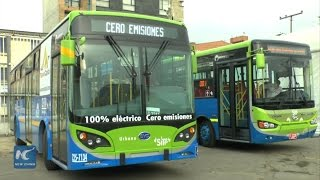 Download Chinese hybrid, electric buses tailored for public transit of Bogota Video
