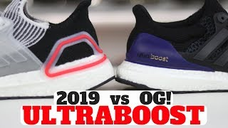 Download UltraBoost 2019 vs UltraBoost OG 1.0 Comparison Review! Which Is More Comfortable? Video