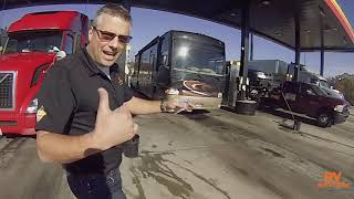 Download RV TRAINING - Getting DIESEL at a truck stop! Video