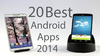 Download Top 20 Best Android Apps 2014 Video