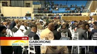 Download Masire memorial service Wednesday, Nthakoana Ngatane reports Video