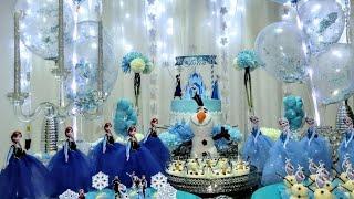Download 11° Mesversário da Júlia   Tema: Frozen (DIY) Video