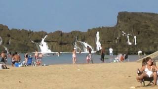 Download Massive Wave at Playa Puerto Nuevo in Vega Baja, Puerto Rico Video