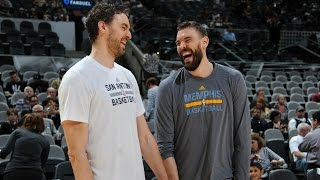 Download The Brothers Gasol: Marc and Pau's Best of the 2016-17 Regular Season Video