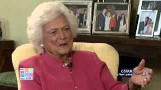 Download Barbara Bush on Former President Bill Clinton (C-SPAN) Video