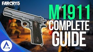 Download Far Cry 5: Weapon Guide 1911 - Stats, Mods, Skins, Gameplay Video