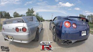 Download R32 SKYLINE GT-R vs. R35 GT-R! Video