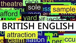 Download 3000+ Common English Words with British Pronunciation Video