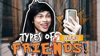 Download Types of Friends Video
