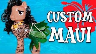 Download Custom MAUI THE DEMIGOD PONY From Moana Disney MLP My Little Pony Tutorial Video