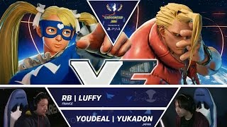 Download RB Luffy vs YOUDEAL Yukadon - Capcom Cup 2016 Day 1 Top 16 - CPT2016 Video