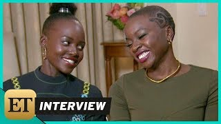 Download 'Black Panther': Lupita Nyong'o and Danai Gurira (FULL INTERVIEW) Video