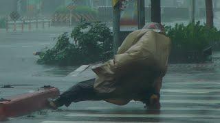 Download Super Typhoon Soudelor hit Taiwan Video