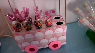 Download carrito exhibidor de dulces DIY (MESA DE POSTRES O DULCES 1° PARTE) Video