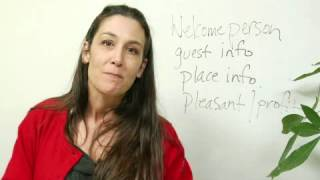 Download Example of a Welcome Speech Video