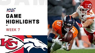 Download Chiefs vs. Broncos Week 7 Highlights | NFL 2019 Video