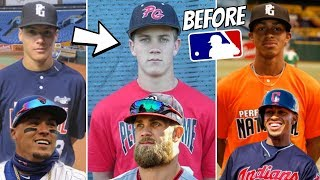 Download MLB Stars BEFORE They Were Famous (High School Highlights, Minors) Video