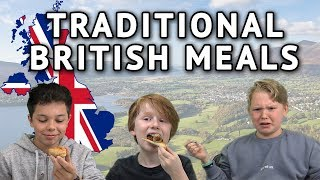Download German Kids try Traditional British Meals (Breakfast, Haggis, Scones) Video