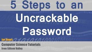 Download 5 Steps to a Secure Uncrackable Password Video