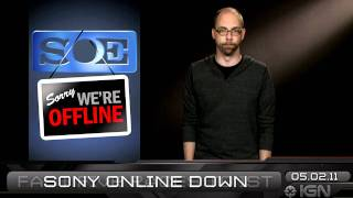 Download PSN Freebies & Sony Online Attack - IGN Daily Fix, 5.2.11 Video