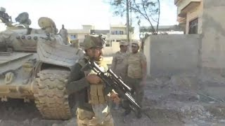 Download Iraq: Soldiers under threat from Islamic State Group snipers in Mosul Video