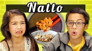 Download KIDS vs. FOOD # 10 - NATTO Video