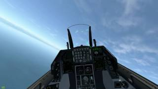 Download DCS: F16(Mod) vs SU27 Dogfights (2 Fights) Video