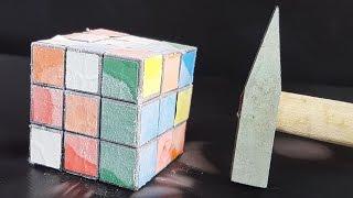 Download Science Experiment LIQUID NITROGEN vs RUBIK'S CUBE Video