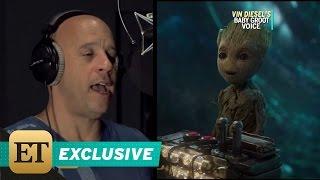 Download EXCLUSIVE: The Secret Behind Vin Diesel's Groot Voice May Surprise You Video