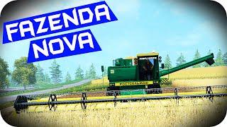Download FARMING SIMULATOR 2015 - Fazenda Nova! #09 TotalArmy Video