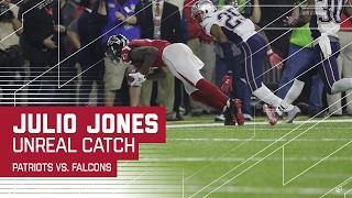 Download Julio Jones Unreal Sideline Catch! | Patriots vs. Falcons | Super Bowl LI Highlights Video