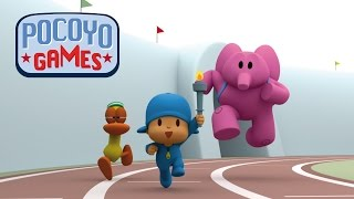 Download Pocoyo Games - The Race of the Flame [compilation] Video