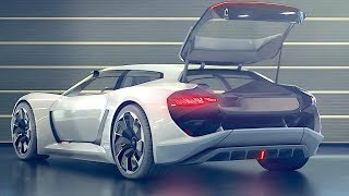 Download Electric Audi INTERIOR Video PB18 e-tron Audi Shooting Brake Interior Audi RS Hothatch Video Video