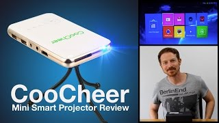 Download CooCheer Mini Smart Projector review by GadgetViper Video