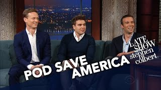 Download 'Pod Save America' Hosts Have Sympathy For Sean Spicer Video
