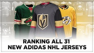 Download RANKING ALL 31 NEW ADIDAS NHL JERSEYS! Video