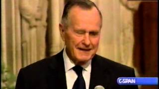 Download Funeral of Ronald Reagan, 2004-06-11 Part 9 (George H Bush) Video