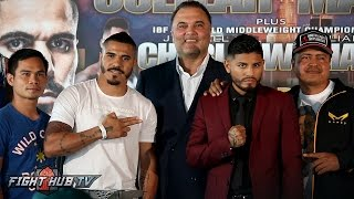 Download Jesus Cuellar vs. Abner Mares Full Press Conference & Face Off video- Los Angeles, CA Video