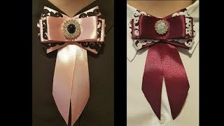Download Brosche/DIY/Bow Brooch/Tutorial Video