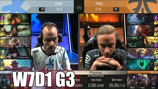 Download H2K Gaming vs Fnatic | Week 7 Day 1 S6 EU LCS Spring 2016 | H2K vs FNC G2 W7D1 Video